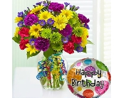 It's Your Day Bouquet Happy Birthday dans Watertown CT, Agnew Florist