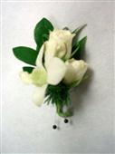 Rose and Orchid Boutonniere in Belleville ON, Live, Love and Laugh Flowers, Antiques and Gifts