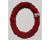 Double Carnation Lei in Fremont CA, Kathy's Floral Design
