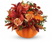 Autumn's Joy by Teleflora in La Prairie QC, Fleuriste La Prairie