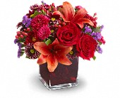 Teleflora's Autumn Grace in Burlington WI, gia bella Flowers and Gifts