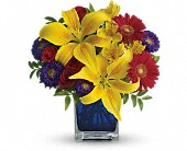 Teleflora's Blue Caribbean in Beaumont TX, Blooms by Claybar Floral
