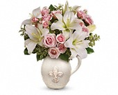 Teleflora's Fleur-de-Love Bouquet in Waldron AR, Ebie's Giftbox & Flowers