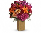 Teleflora's Fuchsia Fantasy in Burlington WI, gia bella Flowers and Gifts