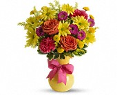 Teleflora's Hooray-diant! in Huntington Beach CA, A Secret Garden Florist