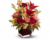 Teleflora's Indian Summer in Milford MA, Francis Flowers, Inc.