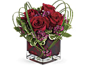 Teleflora's Sweet Thoughts Bouquet with Red Roses in Darlington WI, A Vintage Market Floral
