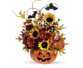 Teleflora's Trick & Treat Bouquet in Madison WI, Metcalfe's Floral Studio