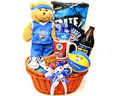 NBAGB3 ''OKC Thunder'' Spirit Gift Basket in Oklahoma City OK, Array of Flowers & Gifts