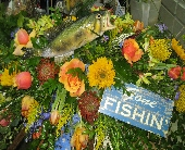 FISHERMAN CASKET COVER in Chattanooga, Tennessee, Flowers By Gil & Curt
