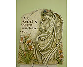 May God''s Angels watch over you<br>$65 in Westerville&nbsp;OH, Reno's Floral