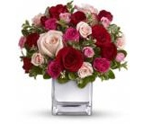 Love Medley Bouquet with Red Roses in Smyrna GA, Floral Creations Florist