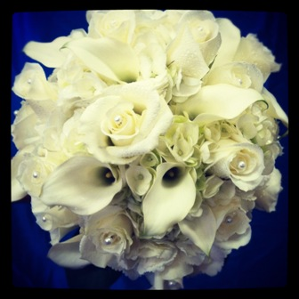 Bride's Wedding Bouquet in Eustis FL, Terri's Eustis Flower Shop
