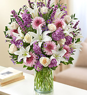1 800 Flowers-Ultimate Elegance-Lavender and White in Woodbridge VA, Lake Ridge Florist