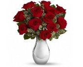 True Romance Bouquet with Red Roses in Smyrna GA, Floral Creations Florist