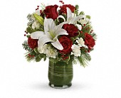 Holiday Hues Bouquet in Orlando FL, Windermere Flowers & Gifts