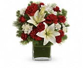 Teleflora's Enchanted Winter Bouquet in Christiansburg VA, Gates Flowers & Gifts