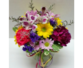 Petite Vase in Raleigh NC, Gingerbread House Florist - Raleigh NC