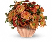 Teleflora's Joyful Hearth Bouquet in Moundsville WV, Peggy's Flower Shop