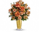Teleflora's Southern Belle Bouquet in Burlington WI, gia bella Flowers and Gifts