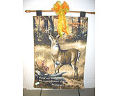 Personalized Tapestry Funeral Easel in Kentwood LA, Glenda's Flowers & Gifts, LLC