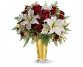 Golden Gifts by Teleflora in Oakland CA, Lee's Discount Florist