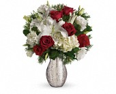 A Christmas Kiss by Teleflora in Liverpool NS, Liverpool Flowers, Gifts and Such