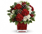 Make Merry by Teleflora in Fargo ND, Dalbol Flowers & Gifts, Inc.