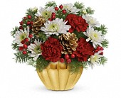 Precious Traditions Bouquet by Teleflora in Waldron AR, Ebie's Giftbox & Flowers