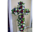 Vibrant Cross in Melbourne FL, Paradise Beach Florist & Gifts