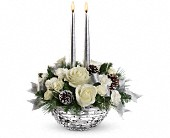 Teleflora's Splendid New Year Centerpiece in Watertown NY, Sherwood Florist