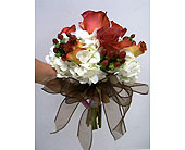 Fall chic bridal bouquet in Melbourne FL, Paradise Beach Florist & Gifts