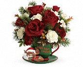 Teleflora's Send a Hug Waiting For Santa in Orlando FL, Elite Floral & Gift Shoppe