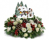Thomas Kinkade's Snow Time by Teleflora in Bothell WA, The Bothell Florist