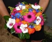 Bold & Vivid Bouquet in Westfield, Indiana, Union Street Flowers & Gifts