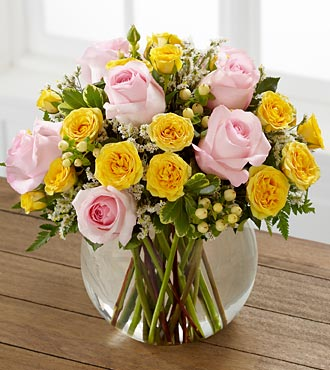 FTD-Soft Serenade Roses in Woodbridge VA, Lake Ridge Florist