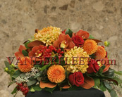 Autumnal Floral Centerpiece Design in Etobicoke ON, VANDERFLEET Flowers