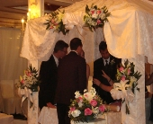 CEREMONY in Bellmore, New York, Petite Florist