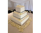 Square Cake with Rhinestones in El Paso, Texas, Angie's Flowers