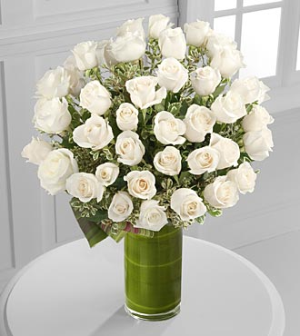 Clarity Luxury Rose Bouquet - 48 Stems of 26-inch  in Highlands Ranch, Colorado, TD Florist Designs