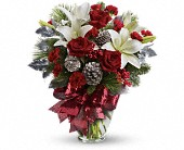 Holiday Enchantment Bouquet in Cerritos CA, The White Lotus Florist
