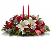 Lights Of Christmas Centerpiece in Agassiz BC, Holly Tree Florist & Gifts