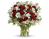 Endless Romance Bouquet in Timmins ON, Heartfelt Sympathy Flowers