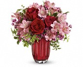 Heart's Treasure Bouquet by Teleflora in New Britain CT, Weber's Nursery & Florist, Inc.