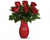 Passion's Heart Bouquet by Teleflora, picture