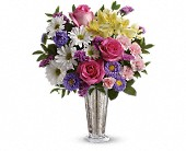 Smile And Shine Bouquet by Teleflora in Harlan KY, Coming Up Roses