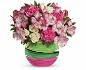 Spring Artistry Bouquet by Teleflora in New Britain CT, Weber's Nursery & Florist, Inc.