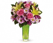Teleflora's Bring On Spring Bouquet in New Britain CT, Weber's Nursery & Florist, Inc.