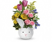 Teleflora's Cuddle Bunny Bouquet in Watertown NY, Sherwood Florist