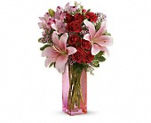 Teleflora's Hold Me Close Bouquet in Burlington WI, gia bella Flowers and Gifts